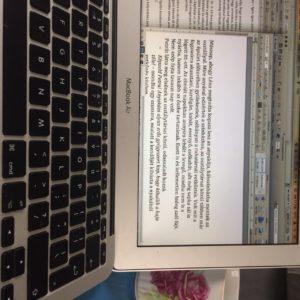 Sebaj Haj - Kézirat a képernyőn